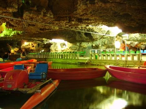 Пещера Али Садр. Иран
